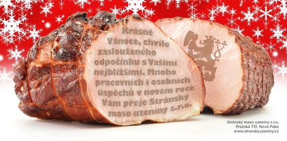 Vánoční blahopřání